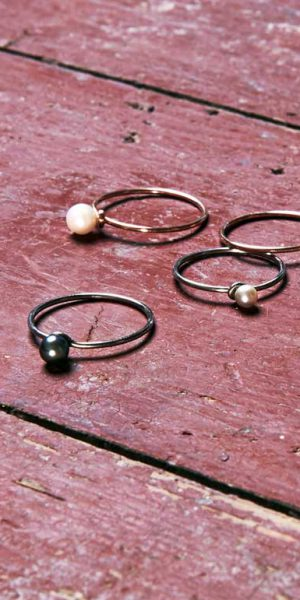 Draht und Perle